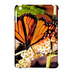 Monarch Butterfly Nature Orange Apple Ipad Mini Hardshell Case (compatible With Smart Cover)