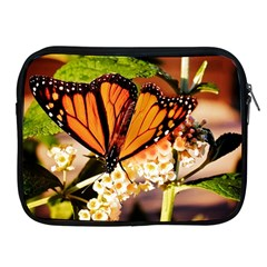 Monarch Butterfly Nature Orange Apple Ipad 2/3/4 Zipper Cases