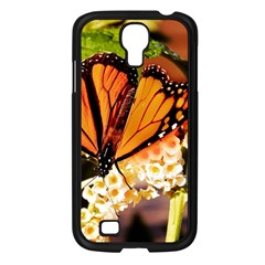 Monarch Butterfly Nature Orange Samsung Galaxy S4 I9500/ I9505 Case (black)