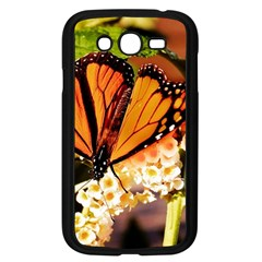 Monarch Butterfly Nature Orange Samsung Galaxy Grand Duos I9082 Case (black)