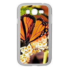 Monarch Butterfly Nature Orange Samsung Galaxy Grand Duos I9082 Case (white)