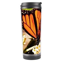 Monarch Butterfly Nature Orange Travel Tumbler