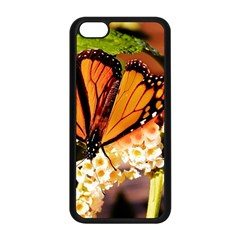 Monarch Butterfly Nature Orange Apple Iphone 5c Seamless Case (black)