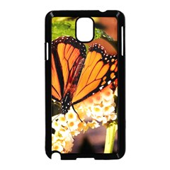 Monarch Butterfly Nature Orange Samsung Galaxy Note 3 Neo Hardshell Case (black)