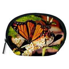 Monarch Butterfly Nature Orange Accessory Pouches (medium)