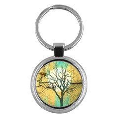 A Glowing Night Key Chains (round)