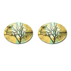 A Glowing Night Cufflinks (oval)