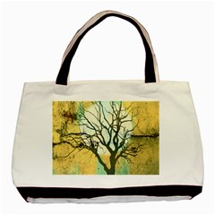 A Glowing Night Basic Tote Bag