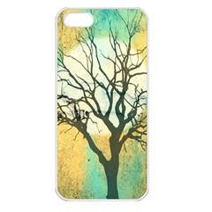 A Glowing Night Apple Iphone 5 Seamless Case (white)