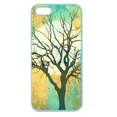 A Glowing Night Apple Seamless iPhone 5 Case (Color)