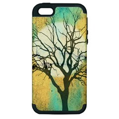A Glowing Night Apple Iphone 5 Hardshell Case (pc+silicone)