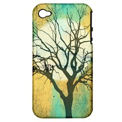 A Glowing Night Apple Iphone 4/4s Hardshell Case (pc+silicone)