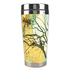 A Glowing Night Stainless Steel Travel Tumblers