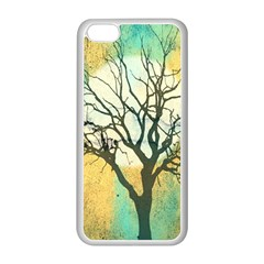 A Glowing Night Apple Iphone 5c Seamless Case (white)