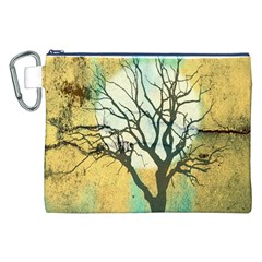 A Glowing Night Canvas Cosmetic Bag (XXL)