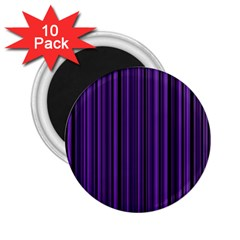 Purple 2.25  Magnets (10 pack)