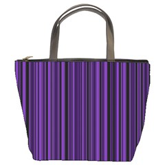 Purple Bucket Bags