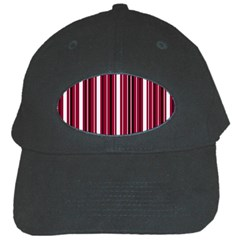 Red lines Black Cap