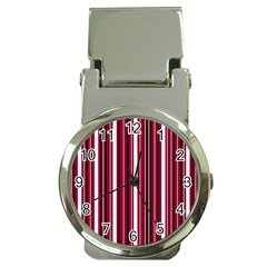 Red lines Money Clip Watches