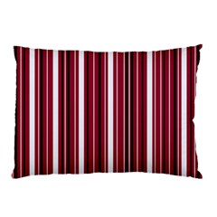 Red lines Pillow Case