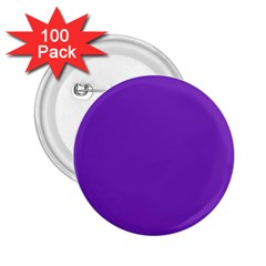 Purple 2.25  Buttons (100 pack)