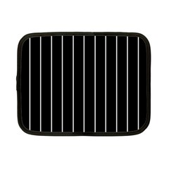 Black and white lines Netbook Case (Small)