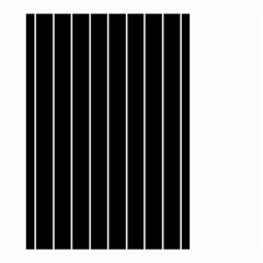 Black And White Lines Small Garden Flag (two Sides)