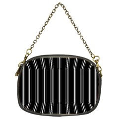 Black and white lines Chain Purses (Two Sides)