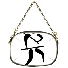 Arnis Pictogram Chain Purses (one Side)