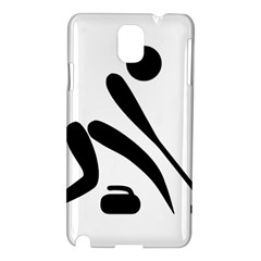 Curling Pictogram  Samsung Galaxy Note 3 N9005 Hardshell Case