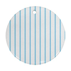 Blue lines Ornament (Round)