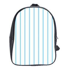 Blue lines School Bags(Large)