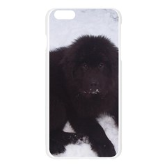 Newfoundland Puppy Apple Seamless iPhone 6 Plus/6S Plus Case (Transparent)