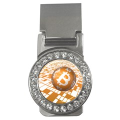 Network Bitcoin Currency Connection Money Clips (cz)