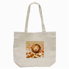 Network Bitcoin Currency Connection Tote Bag (cream)