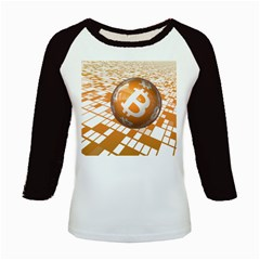 Network Bitcoin Currency Connection Kids Baseball Jerseys