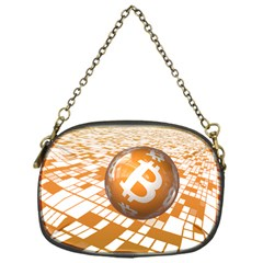 Network Bitcoin Currency Connection Chain Purses (one Side)