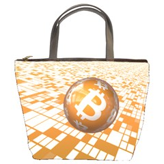 Network Bitcoin Currency Connection Bucket Bags