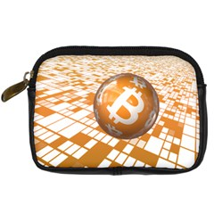 Network Bitcoin Currency Connection Digital Camera Cases