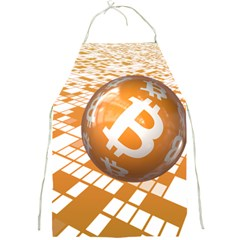 Network Bitcoin Currency Connection Full Print Aprons