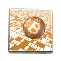 Network Bitcoin Currency Connection Memory Card Reader (square)