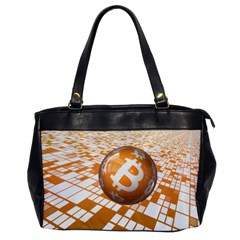 Network Bitcoin Currency Connection Office Handbags
