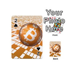 Network Bitcoin Currency Connection Playing Cards 54 (mini)