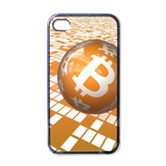 Network Bitcoin Currency Connection Apple Iphone 4 Case (black)