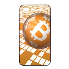 Network Bitcoin Currency Connection Apple Iphone 4/4s Seamless Case (black)