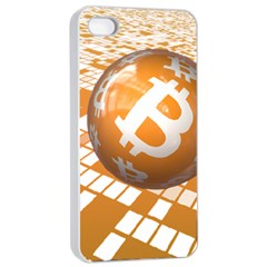 Network Bitcoin Currency Connection Apple Iphone 4/4s Seamless Case (white)