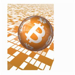 Network Bitcoin Currency Connection Large Garden Flag (two Sides)