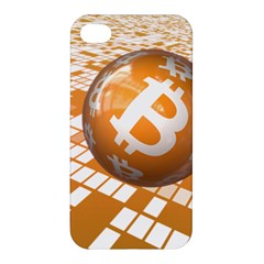 Network Bitcoin Currency Connection Apple Iphone 4/4s Premium Hardshell Case