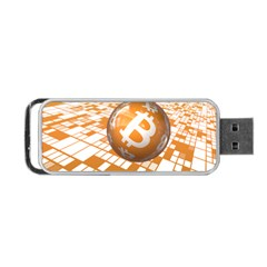 Network Bitcoin Currency Connection Portable Usb Flash (one Side)