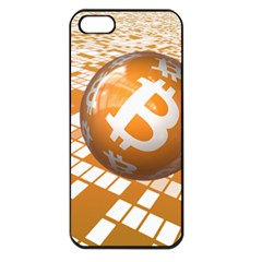 Network Bitcoin Currency Connection Apple Iphone 5 Seamless Case (black)